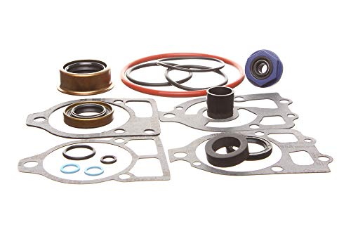 Lower Gear Case Seal - Replacement Kits Brand fits Lower Gearcase Seal Kit for Mercruiser R/MR/Alpha One(Gen 1 Only) Replaces 26-33144A2 & 18-2652