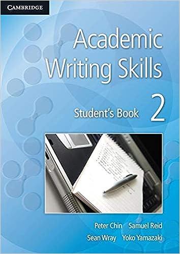effective academic writing pdf