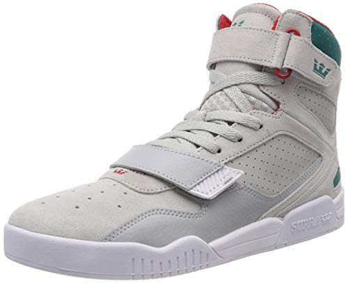 Alto teal white Supra BreakerSneaker A 057 Collo Grey Uomo Grigiolt F3TuKc1Jl