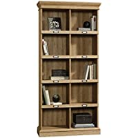 Sauder 414725 Scribed Oak Finish Barrister Lane Bookcase