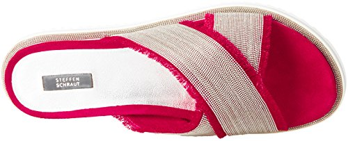 Steffen Mules Femme 82 Schraut 17 Rouge Red Road Sand PPgw7