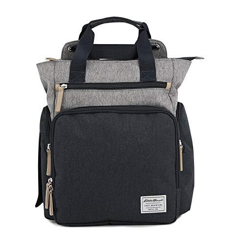 Eddie Bauer Gear - Eddie Bauer Explorer Convertible Diaper Bag, Navy/Grey