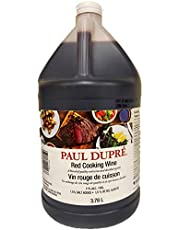 PAUL DUPRE 11% Red Cooking Wine, 3.78 Liter
