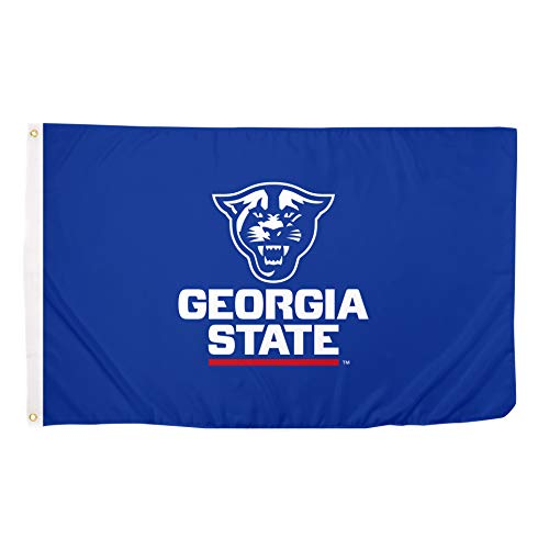 - Desert Cactus Georgia State University Panthers 100% Polyester Indoor Outdoor Flag GSU (Blue)