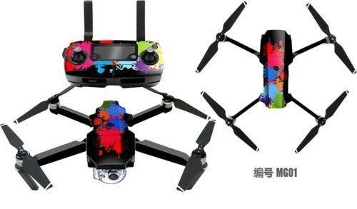 FidgetKute PVC 3M Waterproof Stickers Decal Skin Protector for RC DJI Mavic Pro Drone Quad MG06 from FidgetKute