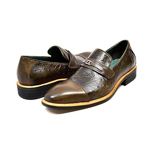 Collezione Britannica Dolche Mens Dress Shoes Olive / Olive