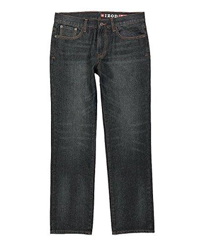 IZOD Men's Classic Denim Jeans , DEEP Ocean, 32W x 36L