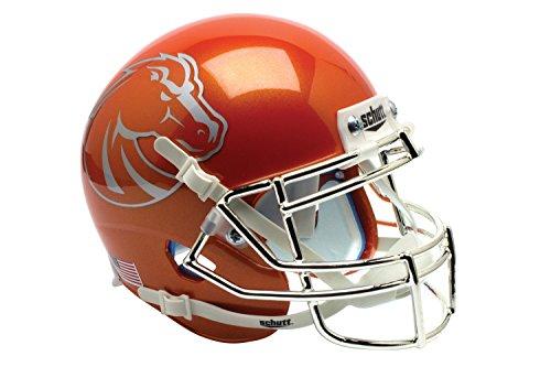 NCAA Boise State Broncos Orange Replica Helmet, One Size by Schutt