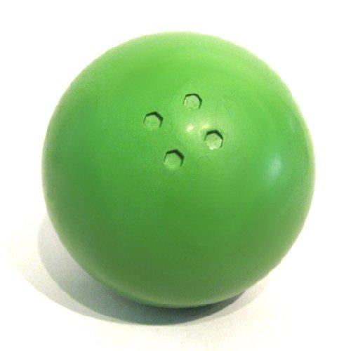 Boßelkugel aus Gummi (grün) Carls