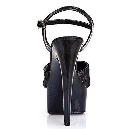 Sul Modello Tacchi A Llp Delle Piattaforma Sandali I Centimetri Alti 15 Lavoro Di Posto Spessa Donne Inferiori Impermeabile Scarpe 56qqU0xzwB