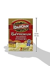 Idahoan Real Mashed Gable Carton, Premium, 52 Ounce