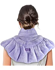 REVIX Microwave Heating Pad for Neck Shoulders and Back Pain Relief with Moist Heat