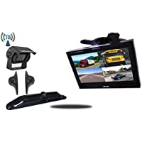 Tadibrothers 9 Inch Ultimate Wireless RV Trailer Backup Camera System License Plate and Side Cameras