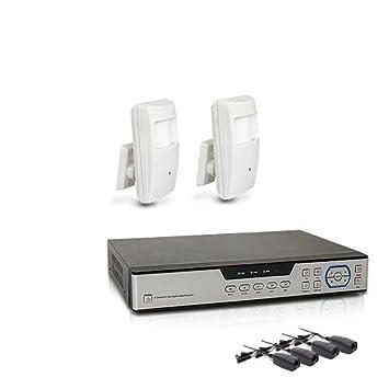 Kit videovigilancia con grabador de IP 1 TB y 2 Cámaras ocultas (AHD 1080P detector de presencia: Amazon.es: Electrónica