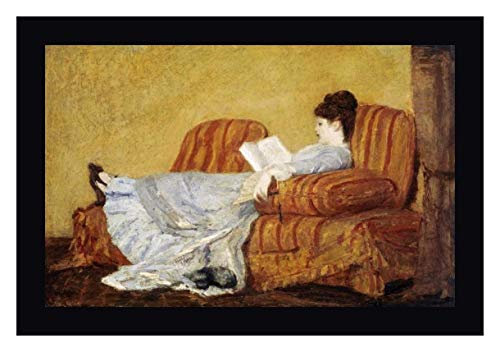 - Young Lady Reading by Mary Cassatt - 26