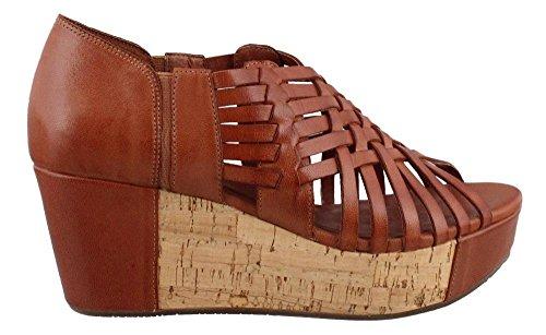 Women's Chocolate Blu, Web Wedge Sandals Bourbon 7.5 M