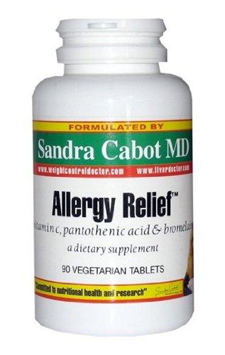 Allergy Relief, Vitamin C, Pantothenic Acid & Brome