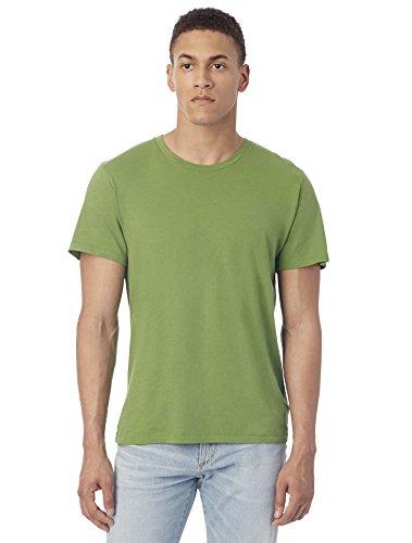 Alternative Men's Organic Crew, Earth Green, Large