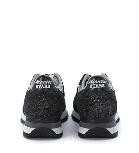 Nero Stars camoscio Vega Nero in Atlantic Sneaker Glitter Stampato HTn0n6