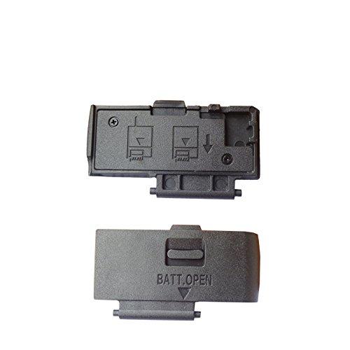 Replacement Camera Battery Cover Door Cap Lid Repair Part For canon 20D 30D 300D 350D 400D 450D 500D 1000D 1100D 700D T5i 650D Camera Repair (650D) -