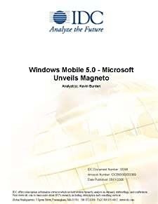 Windows Mobile 5.0 - Microsoft Unveils Magneto IDC and Kevin Burden