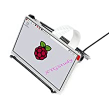 7 inch IPS 1024x600 Display TFT LCD DPI interface no Touch Supports Raspbian Ubuntu OSMC Compatible with Raspberry Pi 2B/3B/Zero/Zero W @XYGStudy