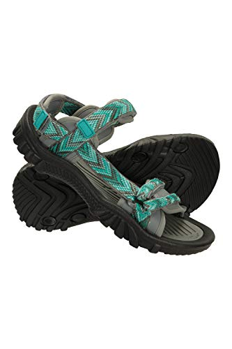 Mountain Warehouse Cyprus Womens Sandals - Breathable Ladies Shoes, Neoprene Lined Footwear, Microfibre Footbed Covering - Best for Sports, Gym, Camping