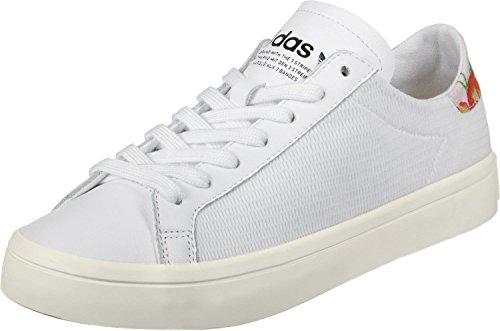 adidas Courtvantage W, Zapatillas de Deporte para Mujer, Bianco Blanco (Ftwbla / Ftwbla / Ftwbla)
