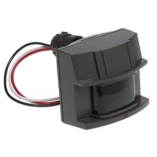 Heath Zenith SL-5407-BZ 180-Degree Replacement Motion Sensor, Selectable Timer, Adjustable Motion Detection Sensitiity Upto 70Feet Range, LED Indicates Motion Sensed (Day or Night), 500W, Bronze