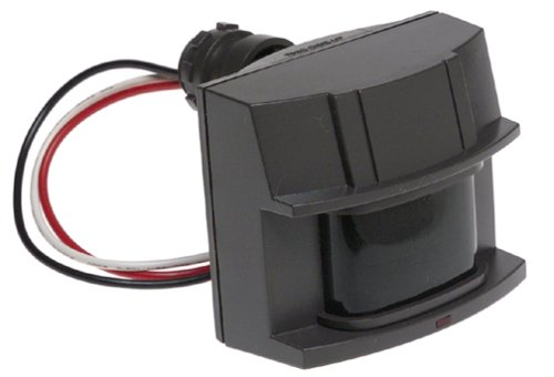 Heath Zenith SL-5407-BZ-B Replacement 180 Degree Motion Sensor (Bronze) Selectable Motion Timer, Adjustable Motion Detection Up-to 70ft with LED Light when Motion is Detected, Photocell for Night Ops (Photocell Detector)