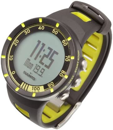 Suunto Quest Yellow - Reloj Deportivo (Dot-Matrix, 42,7 x 42,7 x ...