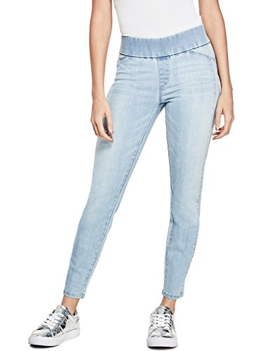 Guess Jeans Pants - GUESS Factory Women's Women's Naomi Pull-On Whiskered Skinny Jeans