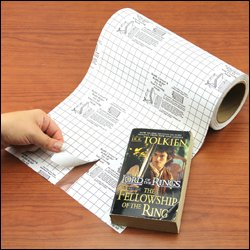 Vernon Library Supplies Reddi Covers Paperback Book Covers 400'' Long Roll 15'' Width by Vernon