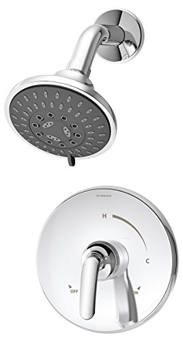 Symmons S-5501 Elm 1- Handle Shower Faucet System, Chrome by Symmons