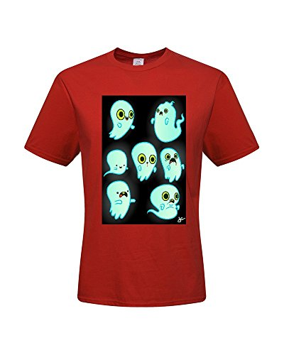 DIY T-Shirts,Men's 100% Cotton Short Sleeve T-Shirt (Large)