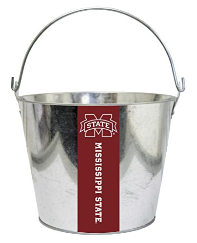 Mississippi State Ice Bucket - Mississippi State Bulldogs Metal Drink Bucket