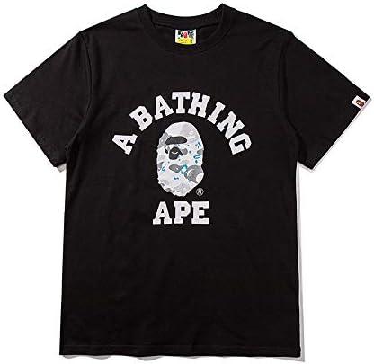 (ア ベイシング エイプ),BAPE CAMO プリント ロゴ T-SHIRT TEE メンズ おしゃれ 通学 通勤 Tシャツ 20AW00759【並行輸入品】