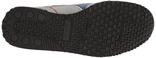 Diadora Heren Titan Premium Sneaker Wit / Chili Peperrood