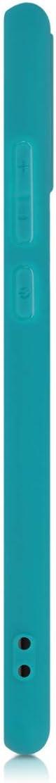 Housse Protectrice pour T/él/éphone en Silicone Bleu Clair Mat kwmobile Coque Compatible avec Huawei P Smart 2020