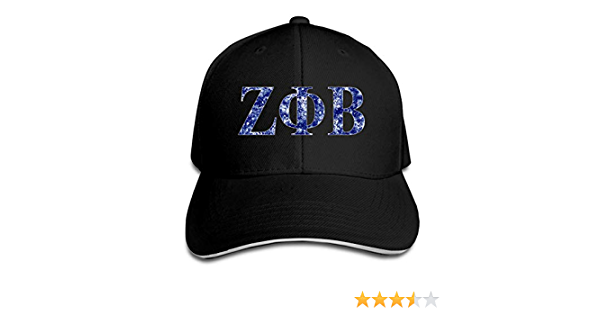 Phi Zeta Beta Fashion Classic Wild Baseball Cap Men and Women Blue