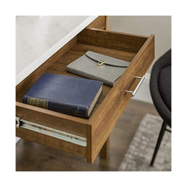WE Furniture Rustic Farmhouse Wood Computer Writing Desk Office
