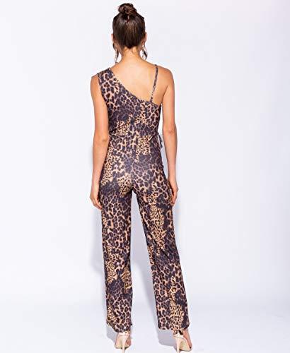 amp;Ayat al Mujer Momo Leopardo Bolso Hombro para Estampado Fashions de 7xdqaSwafn