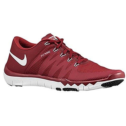 Nike Mens Gratis Trainer 5.0 V6 Tb Team Crimson / Wit Zwart Ons 7 M