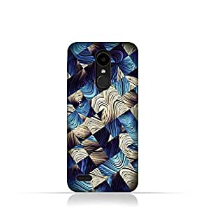 LG K4 2017 TPU Silicone case with Digital Art abstract Design