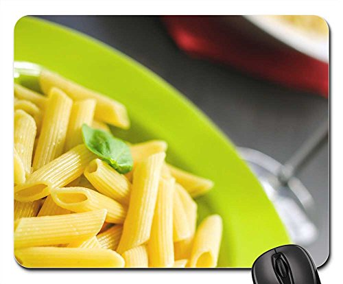 (Mouse Pads - Rigatoni Pasta Noodles Food Meal Cuisine Cooked)