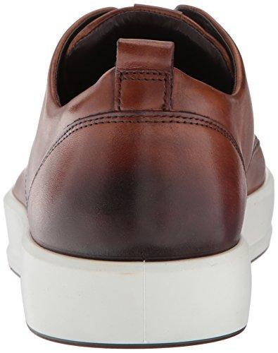 Ecco Mens Soft 8 Tie Fashion Sneaker Lion Street