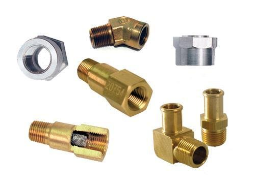 Turbonetics 20754 Inlet Oil Filter Fitting