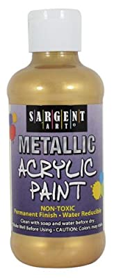 Sargent Art Metallic Acrylic Paint