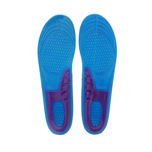 Silicone Gel Orthotic Arch Support Massage Anti-Slip Sport Insole Insert Cushion Pad - 6