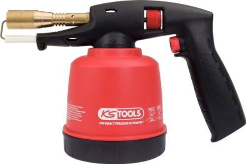 KS Tools 903.5902 Universal-Kartuschenl/ötger/ät mit Piezo-Z/ündung rot